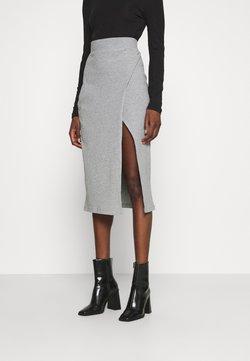 Zign - Falda de tubo - mottled grey