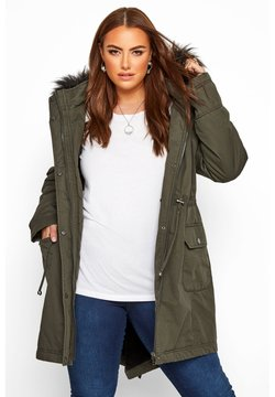 Yours Clothing - Parka - khaki