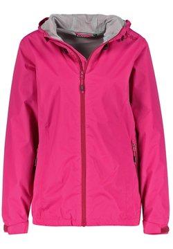 CMP - Regenjacke / wasserabweisende Jacke - pink
