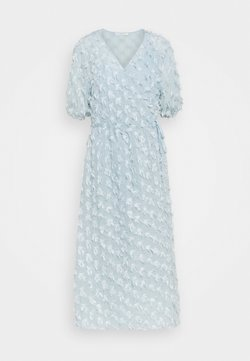 Love Copenhagen - VINRA WRAP DRESS - Cocktailklänning - cashmere blue