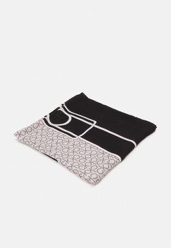 Calvin Klein - SCARF - Foulard - black/white
