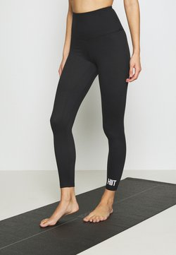 HIIT - STUDIO PEACHED CORE LEGGING - Trikoot - black