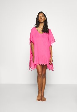 Seafolly - BEACH EDIT AMNESIA KAFTAN - Beach accessory - bright pink