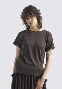 Icebreaker - W COOL-LITE REVERSIBLE SS  - T-Shirt basic - ebony