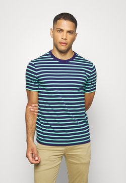 GAP - CLASSIC - Print T-shirt - navy/green