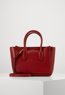 Polo Ralph Lauren - MINI SLOANE - Torebka - scarlet