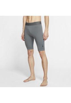 Nike Performance - DRY YOGA - Shorts - iron grey/black