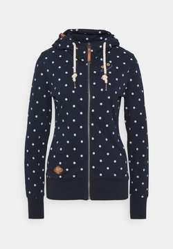 Ragwear - PAYA DOTS - Strickjacke - navy