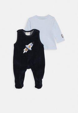 Jacky Baby - SPACE JOURNEY SET - Overall / Jumpsuit - marine/hellblau