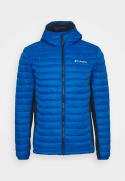 Columbia - POWDER PASS™ HOODED JACKET - Outdoorjacke - bright indigo/collegiate navy