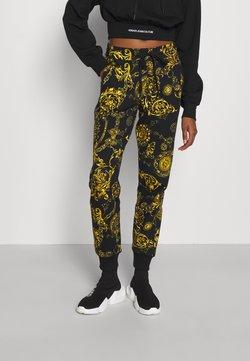 Versace Jeans Couture - PANTS - Jogginghose - black/gold