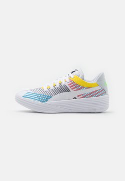 Puma - CLYDE ALL PRO - Chaussures de basket - white/blue atoll