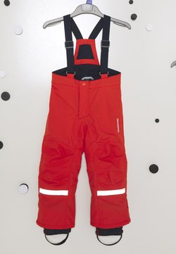 Didriksons - IDRE KIDS PANTS - Kangashousut - poppy red