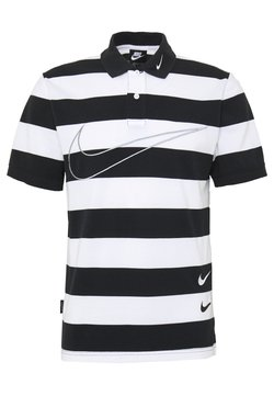 Nike Sportswear - M NSW  POLO SS KNT - Polo - black/white