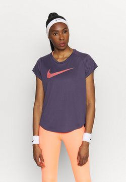 Nike Performance - ICON CLASH RUN  - T-Shirt print - dark raisin