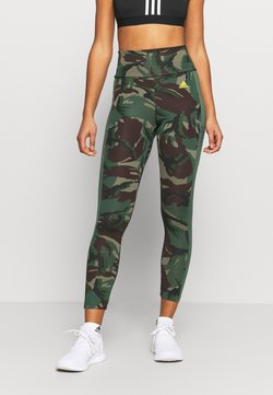 adidas Performance - CAMO - Tights - greoxi/aciyel