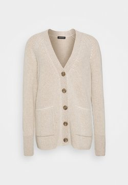 Repeat - CARDIGAN - Neuletakki - sand/cream