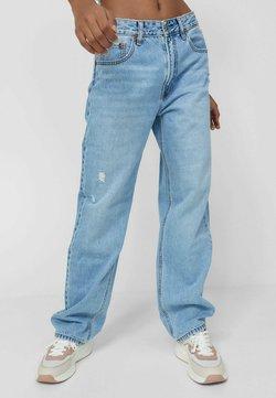 Stradivarius - Jeans Relaxed Fit - blue denim