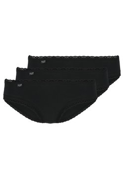 Sloggi - 3 PACK - Slip - black