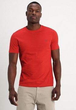 Marc O'Polo - SHORT SLEEVE ROUND NECK - T-Shirt basic - pompeian red