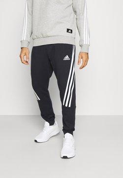 adidas Performance - 3S TAPE PANT - Jogginghose - black