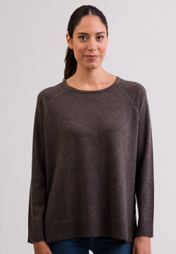 CASH-MERE - Pullover - taupe melange