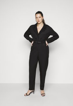 Missguided Plus - TAILORED BELTED - Combinaison - black