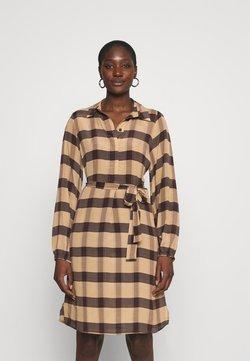 Second Female - SEVERIN DRESS - Freizeitkleid - sepia tint