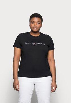 Tommy Hilfiger Curve - REGULAR TEE - T-Shirt print - black