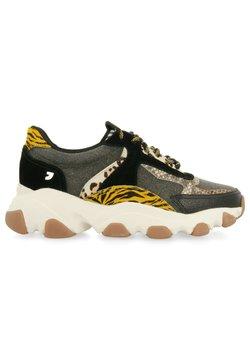 Gioseppo - CON MIX DE ANIMAL PRINT Y SERPIENTE HALAWA - Sneakers basse - black