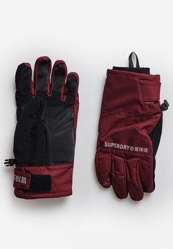 Superdry - Fingerhandschuh - claret