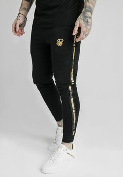 SIKSILK - Jogginghose - black  gold