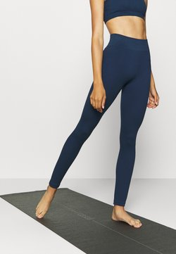 South Beach - SEAMLESS HIGH WAIST LEGGING - Leggings - deep navy