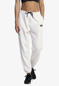 RVCA - ESSENTIAL - Jogginghose - white zebra