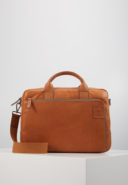 Strellson - HYDE PARK BRIEFBAG - Aktentasche - cognac