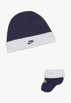 Nike Sportswear - FUTURA HAT AND BOOTIE BABY SET - Pipo - blue void