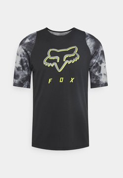 Fox Racing - DEFEND ELEVATED - T-Shirt print - black