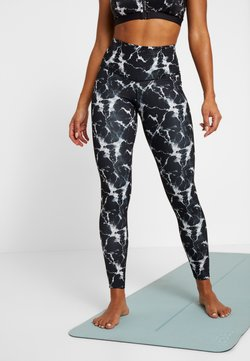 Hunkemöller - LEGGING MARBLE - Tights - black