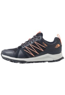The North Face - LITEWAVE FASTPACK II WP - Trainers - urban navy/cantaloupe