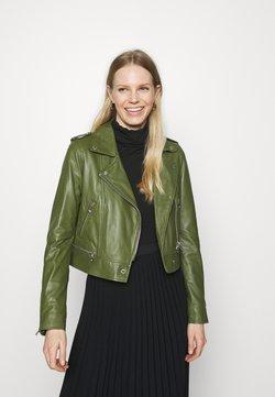 Oakwood - YOKO - Veste en cuir - green