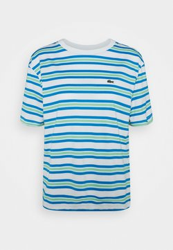 Lacoste - T-Shirt print - flour/ibiza syringa liamone