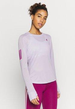 adidas Performance - SPORTS RUNNING LONG SLEEVE - Funktionsshirt - purple