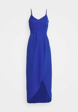 YAS - YASVADUZ STRAP DRESS SHOW - Maxikjoler - dazzling blue