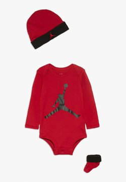 Jordan - JUMPMAN BOOTIE SET  - Geschenk zur Geburt - gym red