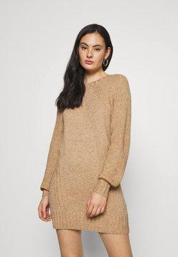 ONLY - ONLSANDY DRESS - Sukienka dzianinowa - pumice stone/melange