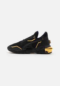 Puma - PROVOKE XT - Sports shoes - black/team gold