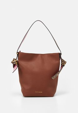 STUFF MAKER - ROYAL GARDEN - Handbag - cognac