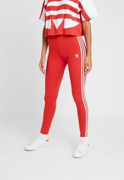 adidas Originals - Legginsy - lush red/white