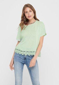 ONLY - Camiseta estampada - aqua foam