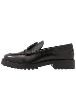 Walk London - SEAN TASSEL LOAFER - Slipper - black
